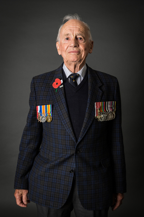 Portrait of Fred H Bland (2014). © NZIPP Photograph by  Jane Nelson 1247-7249. CC-BY-NC-ND 4.0.