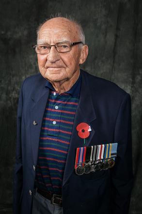Portrait of Robert Burgham, 203728 (2014). © NZIPP Photograph by  Chris Dillon 1111-5058. CC-BY-NC-ND 4.0.