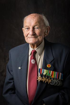 Portrait of Frederick John Edward Lemberg, NZD3486 (2014). © NZIPP Photograph by  Steve Hussey 1151-7588. CC-BY-NC-ND 4.0.