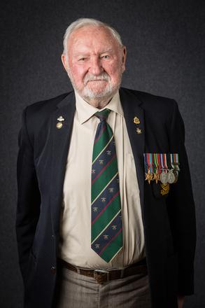 Portrait of Peter Lindsay, 4312983 (2014). © NZIPP Photograph by  Tony Gatman 1165-4059. CC-BY-NC-ND 4.0.