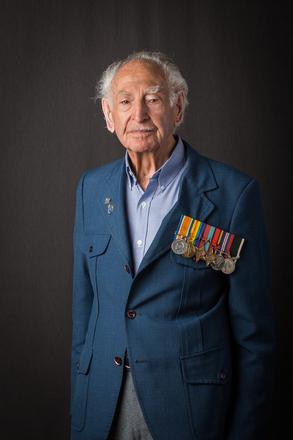 Portrait of Colin V.? Myers, 7967 (2014). © NZIPP Photograph by Tony Gatman 4059. CC-BY-NC-ND 4.0.