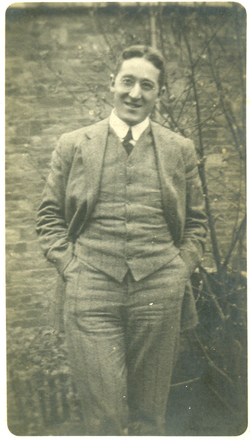 Photograph of Gilbert Vere Bogle in 1912, taken around the completion of his medical degree. Image kindly provided by grandson Chris Hector (March 2021).