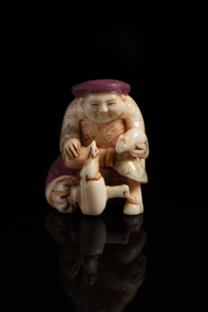 Netsuke, possibly craftsman, 2016.55.12, © Auckland Museum CC BY