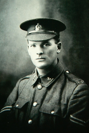 Portrait of James Stuart Whyte, Canterbury Mounted Rifles. Image kindly provided by Adair Polson-Genge (January 2018).