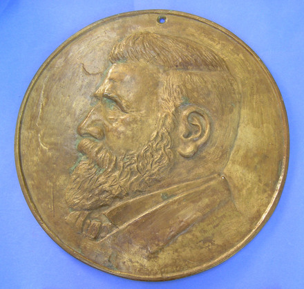 plaque, commemorative - obverse [2005.97.1]