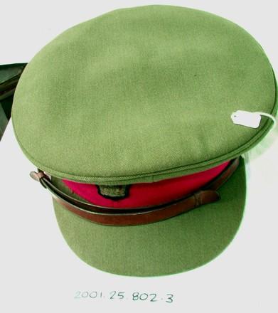 uniform, peaked cap [2001.025.802]