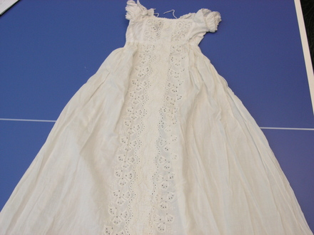 gown, christening