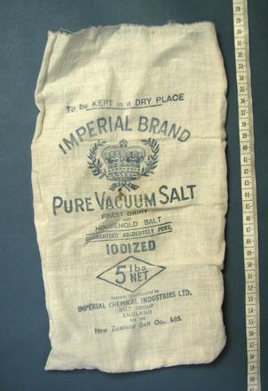 bag, salt [1999.108.101]
