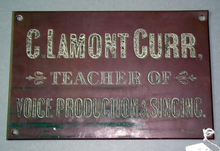 brass nameplate G. LAMONT GURR [1996x2.171]