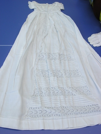 gown, infant's christening