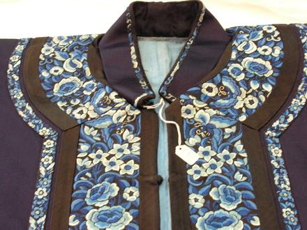 jacket, silk