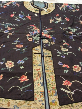 robe, silk