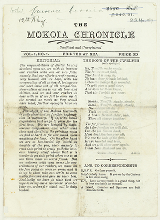 The Mokoia chronicle