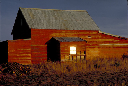 [Red barn, near Blenheim]