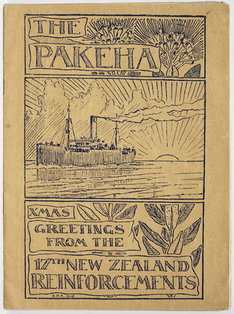 "Pakeha : the journal of the Seventeenth Reinforcements of the New Zealand Expeditionary Forces - aboard  H.M.N.Z. Transport 65 (S.S.""Pakeha"")"