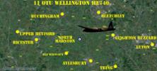 Wellington Bomber HE740 - of which Flight Sergeant Michael Reece and fellow New Zealander Flight Sergeant Alexander Bolger were crew members - crashed on training exercise 4 January 1945 at North Marston, England. - All rights reserved.