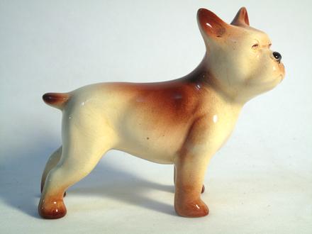 figure, bull dog