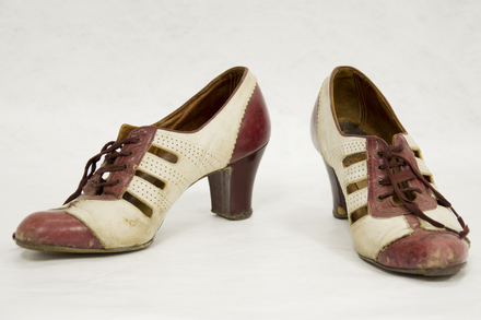 shoes, pair, woman's