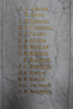 Name panel, Northcote War Memorial (photo G. Parry October 2013) - No known copyright restrictions