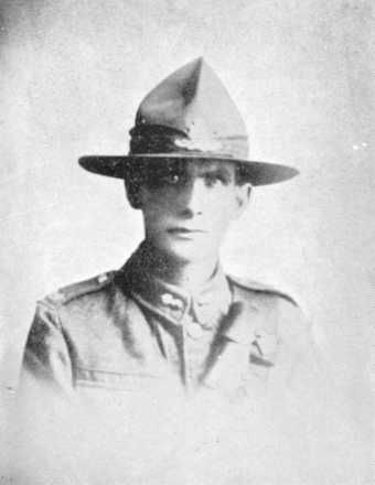 Portrait from In Memoriam, 1914-1918 [Wanganui Collegiate School], 1919[?] - No known copyright restrictions
