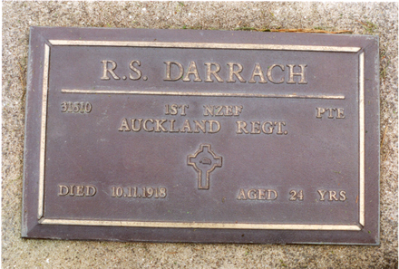 Memorial plaque, Pukapuka Cemetery, Mahurangi, Northland - No known copyright restrictions