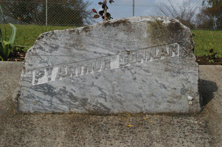 Pukekohe Intermediate School, WW1, Memorial stones (photo J Halpin September 2010) - No known copyright restrictions