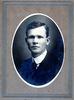 R Mawhinney portrait in suit. Studio photograph Paterson Coy, Hamilton - No known copyright restrictions