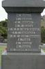 Name panel: Morris - Yorke, and Unknown Warrior, Matakohe War Memorial, WW1 (photo John Halpin 2010) - CC BY John Halpin