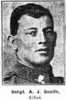 Portrait of Sergeant Scaife from Southland Times. - No known copyright restrictions