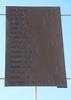 Takapuna War Memorial WW2 name panel 4 (photo John Halpin, July 2013) - CC BY John Halpin