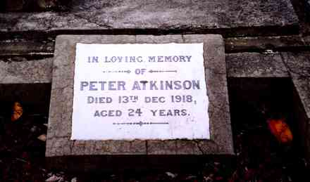 Headstone, Hastings Cemetery (G.A. Fortune in 1999.) - Image has All Rights Reserved