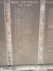 Auckland War Memorial Museum, Hall of Memories, World War 2. Panel Names beginning: Buckley R.B. - Bullock D.V.; Bullock F.A.- Burke, D.C.; Carmichael N.C. - Carrigan J.; Carroll J. - Carter, F. (photo taken in 1999) - This image may be subject to copyright