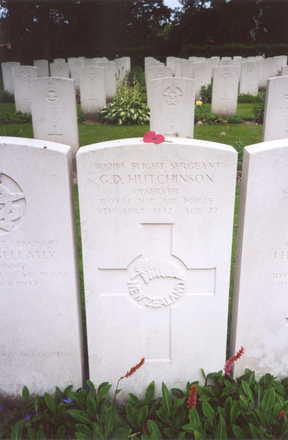 Headstone, Sage War Cemetery, Oldenburg - This image may be subject to copyright