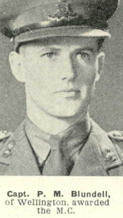 Portrait, awarded the Military Cross from The Weekly News; 6 September 1944 - This image may be subject to copyright