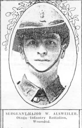 Portrait, Auckland Weekly News, WW1 wounded - No known copyright restrictions