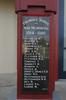 Edendale Primary School War Memorial, WW1 plaque, Sandringham Road, Auckland (photo J. Halpin 2010) - No known copyright restrictions