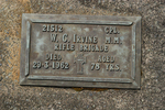 Headstone, Broadwood Services Cemetery, (photo J. Halpin 2012) - No known copyright restrictions