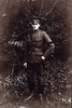 Thomas Paterson fulllength, in uniform, wearing armband - No known copyright restrictions