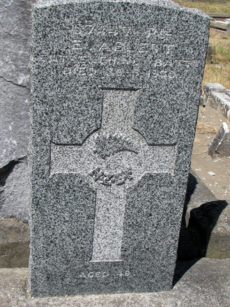 Gravestone, Linwood Cemetery (photo Sarndra Lees January 2010) - Image has All Rights Reserved.