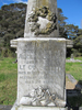 Detail headstone, Hugh Sherson (66031), Waikumete Cemetery, Auckland (photo Sarndra Lees 2013) - Image has All Rights Reserved.
