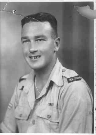 Garth Winston Bicknell taken in Cairo in 1945. - This image may be subject to copyright
