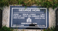Headstone, Rotorua Cemetery (photo Paul Baker, 2010) - This image may be subject to copyright