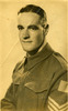 Portrait of Sergeant Gordon William Ross in Auckland, provided by Robyn Clarkson. - This image may be subject to copyright