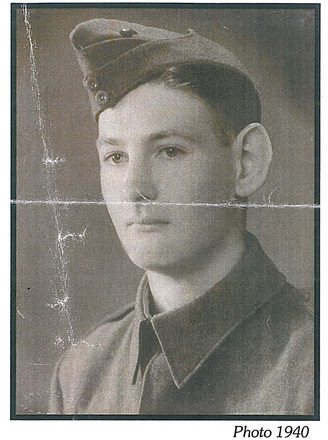 Portrait, 1940 (kindly provided by family) - This image may be subject to copyright