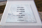 Mangonui (Cenotaph) War Memorial, Dedication Plaque (photo J. Halpin 2011) - No known copyright restrictions