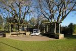 Waiau Pa School War Memorial, landscape view (photo J. Halpin 2012) - No known copyright restrictions