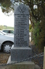 Tomarata Memorial, side panel, WW2 names Andrew - Fishlock (photo J. Halpin November, 2010) - This image may be subject to copyright
