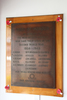 Roll of Honour, Warkworth RSA, 1939 - 1945 (photo J. Halpin 2013) - This image may be subject to copyright