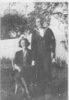 AB Seaman Jim Birss and his wife Grace photographed in the garden (kindly provided by family) - This image may be subject to copyright