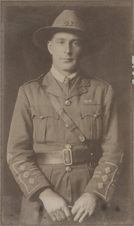 Portrait of Major Edward Levien, Archives New Zealand, AALZ 25044 4 /      F1577 16. Image is subject to copyright restrictions.